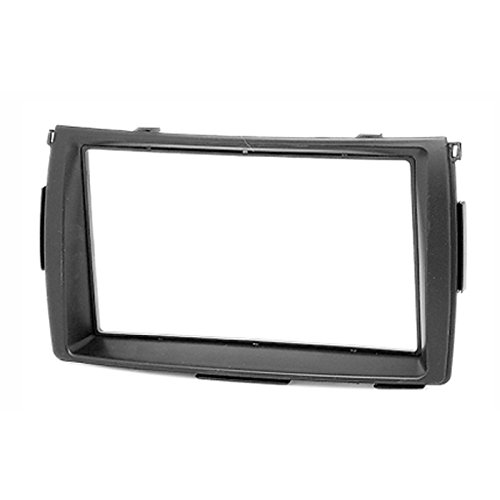 2 Din Car Radio Stereo Fascia Panel Frame DVD Dash Installation Kit for Toyota Sienta 2003+ with 178*102mm 173*98mm 2 din car radio stereo fascia panel frame dvd dash installation kit for ssang yong tivoli 2015 with 178 102mm 173 98mm