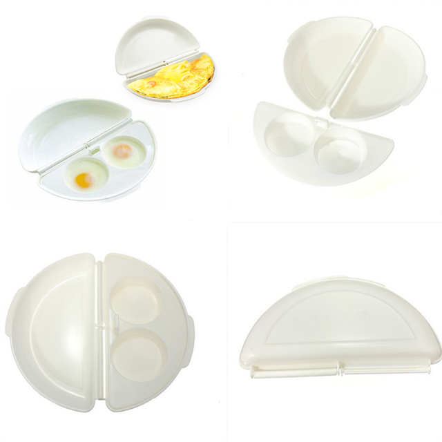 1PC Multifunctional Microwave Omelet Cooker Pan Breakfast Eggs Omelette Steamer Home Kitchen Gadgets Tools 3