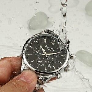 Image 4 - Nibosi 패션 남성 시계 럭셔리 비즈니스 쿼츠 시계 relogio masculino 남성 시계 스포츠 방수 손목 시계 herrenuhren