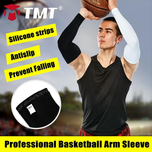 TMT baloncesto Protección Sol muscular del brazo Protector Pads ...