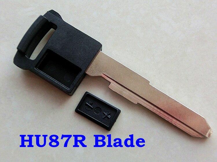 Replacement Key Blank Insert Blade fit for VW Uncut Emergency Smart Key
