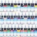 100 шт./лот высокое качество татуировки чернила 54 цветов комплект 1 унц. 30 мл / Bottle пигмент для татуировки Kit