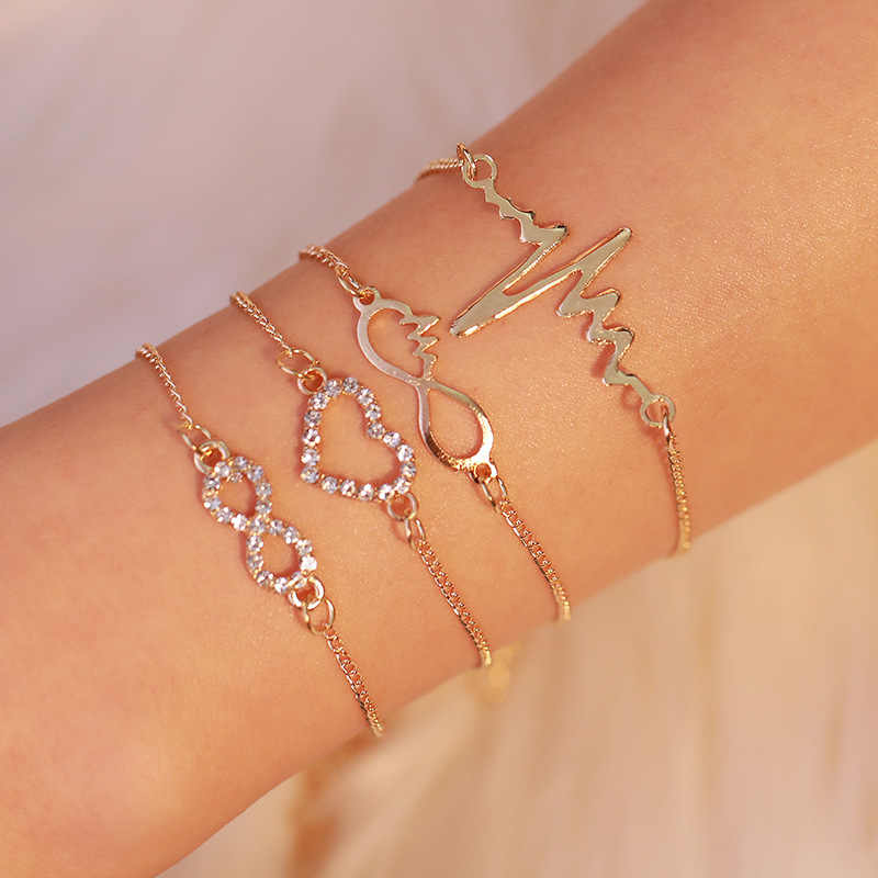 New Arm Cuff Simple Gold/Silver Triangle Alloy Armlet Bracelet Body Jewelry for Women