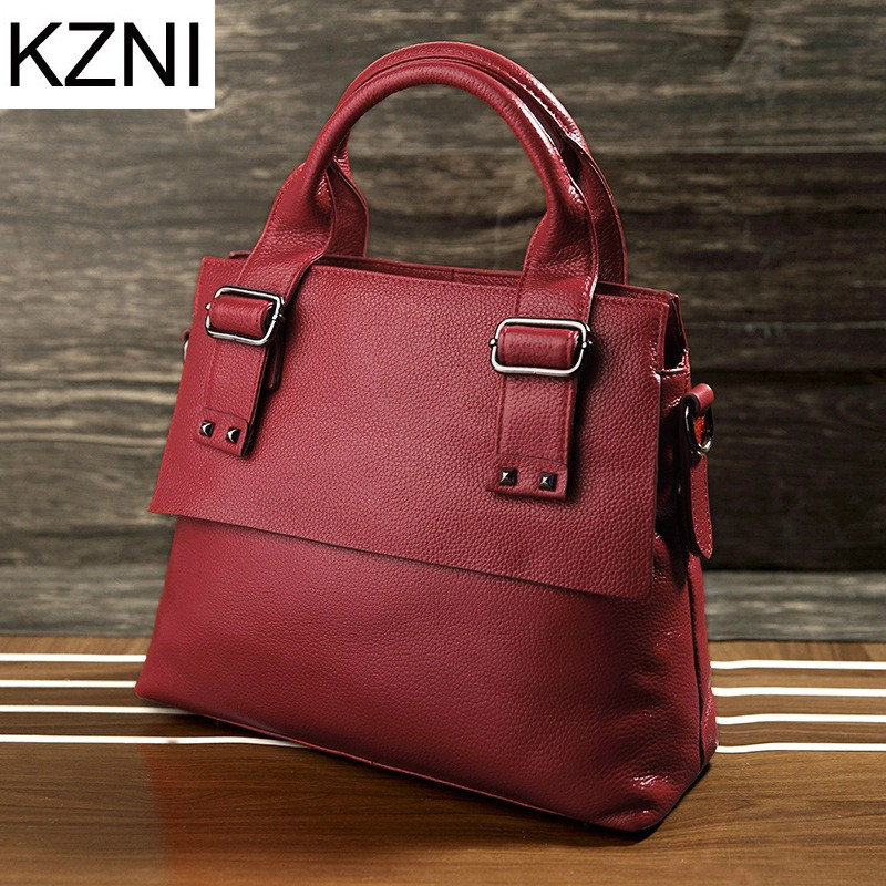 ФОТО KZNI woman bag designer bags famous brand women bags 2017 ladies hand bags carteras mujer marcas famosas cuero genuino L030354