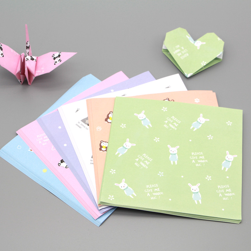 40pcs 40cm Square Origami Paper Print Patterned Handmade Origami Extraordinary Patterned Origami Paper