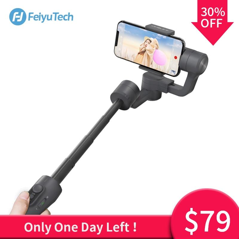 FeiyuTech Vimble 2 Feiyu 3 eje Handheld Gimbal Smartphone estabilizador extensible Pole trípode para iPhone X 8 XIAOMI Samsung