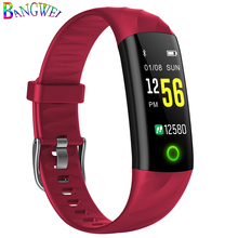 BANGWEI 2018 Women Smart Watch Pedometer Heart Rate Monitor Blood Oxygen Fitness Tracker Sport MultiFunction