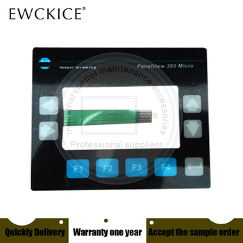 NEW Panelview 300 Micro 2711-M3A18L1 2711-M3A HMI PLC Membrane Switch keypad keyboard Industrial control maintenance accessories new 6es7633 2bf02 0ae3 c7 633 6es7 633 2bf02 0ae3 hmi plc membrane switch keypad keyboard