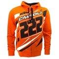 Бесплатная доставка 2016 Новый Тони Cairoli 222 Moto Cross Racing Dual KTM Zip Hoodie