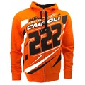 free shipping 2016 Brand New Tony Cairoli 222 Moto Cross Racing Dual KTM Zip Hoodie