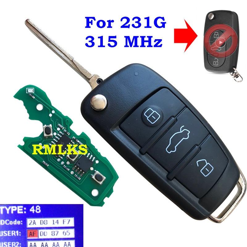 A6 A8 /& TT Audi Transponder Key ID48 A2 A2 Cut to Code // Photo A4