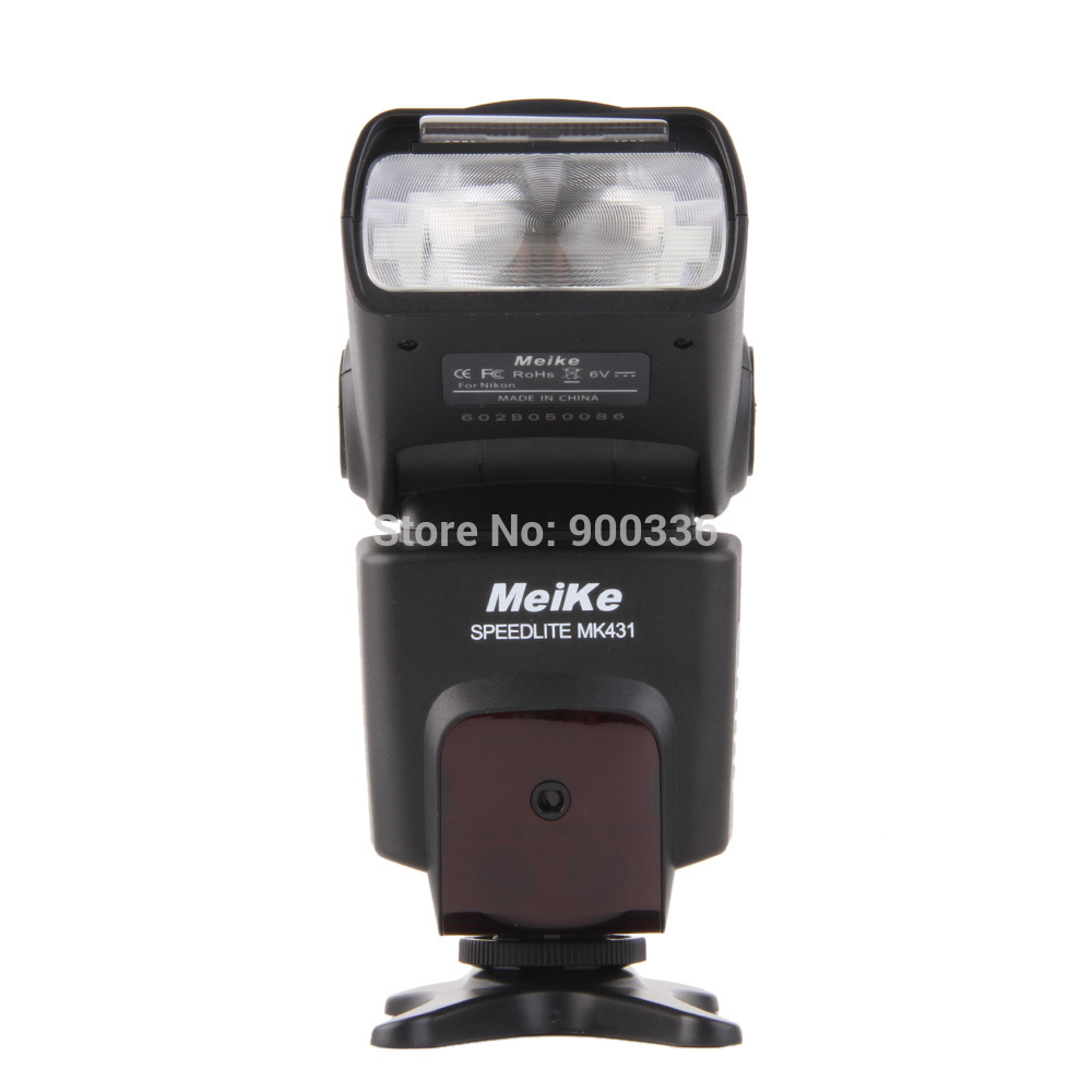 Meike MK-431 TTL LCD Flash Flashgun Speedlite for Nikon D7000 D5100 D3100 D800 D7100 D5000 D5200 D3000 D3200 D90 D960 D80 D300s meike mk 950 mark ii ttl slave wireless flashgun speedlite flashlight for nikon