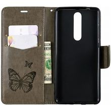 Gray Fashion Phone Wallet sFor Nokia 1 Plus 4.2 2019 2.1 3.1 5.1 2018 For Capa 1Plus 2 3 4 5 Leather Cover DP07Z