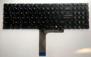 Novo para MSI CX62 GL62 GL72 GP62 GP72 Inglês laptop teclado EUA sem retroiluminado & sem moldura preta