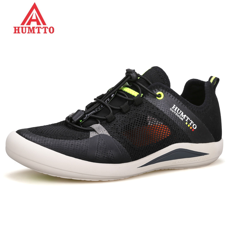 HUMTTO Brand Men Mountain Hiking Shoes Summer Breathable Mesh Outdoor Trekking Shoes Man Climbing & Fishing Non-slip Sneakers humtto men s summer sports outdoor trekking hiking sandals shoes for men sport climbing mountain shoes man sandals