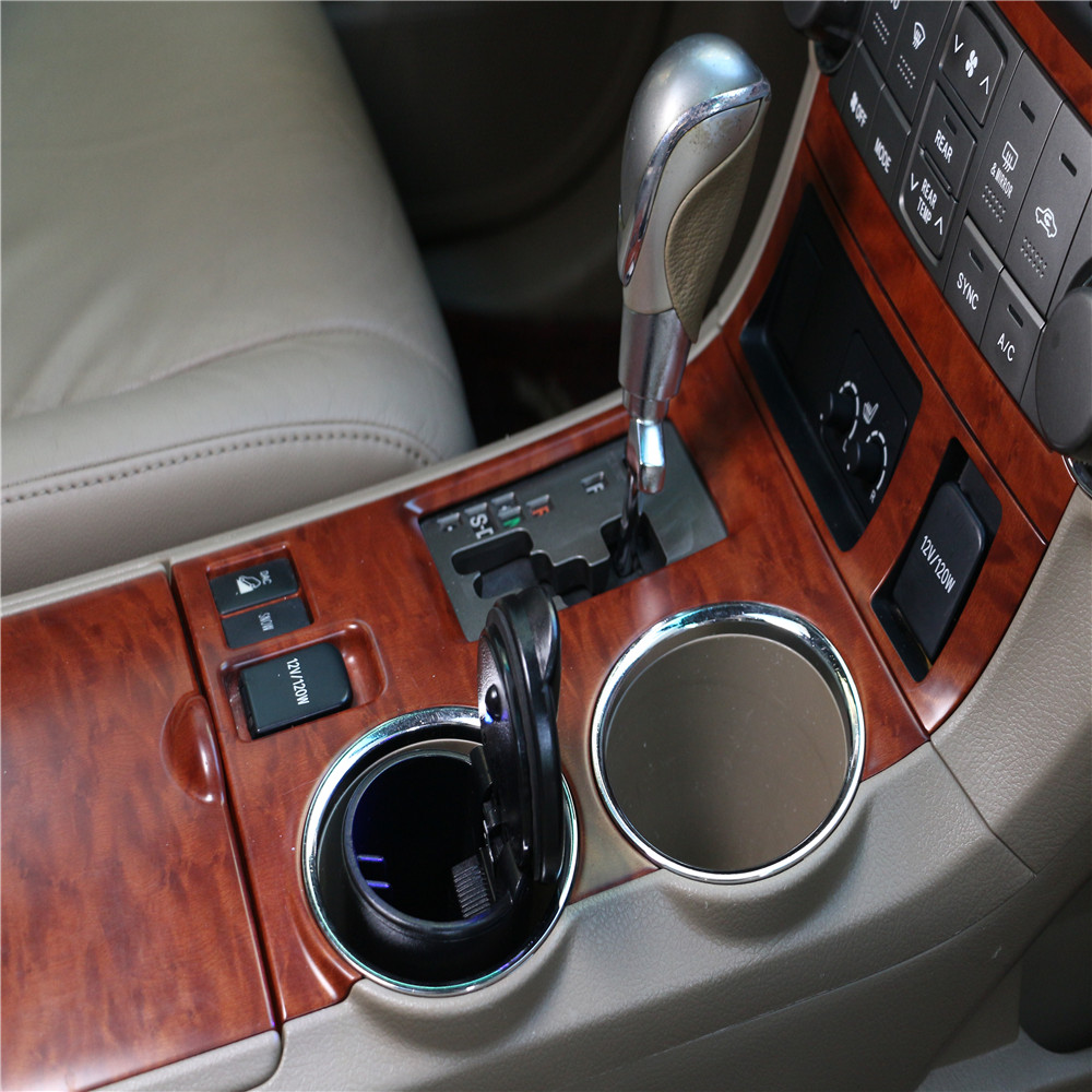 LED Portable Car Ashtray Truck Auto Office Cigarette Ashtray Holder for Mercedes Benz W203 W210 W211 W204 A C E S CLS CLK CLA