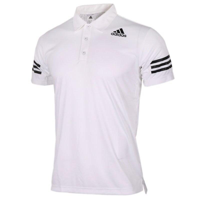 Original Neue Ankunft Adidas Wj Polo Comm Männer Der übung Polo Kurzarm Sportswear Sport & Unterhaltung