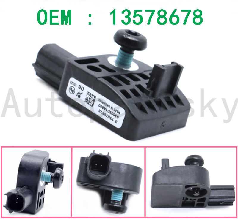 High Quality 13578678 Restraint System Impact Sensor Car Sensor Auto Repair Replacement For Buick LaCrosse For Chevrolet For GMC