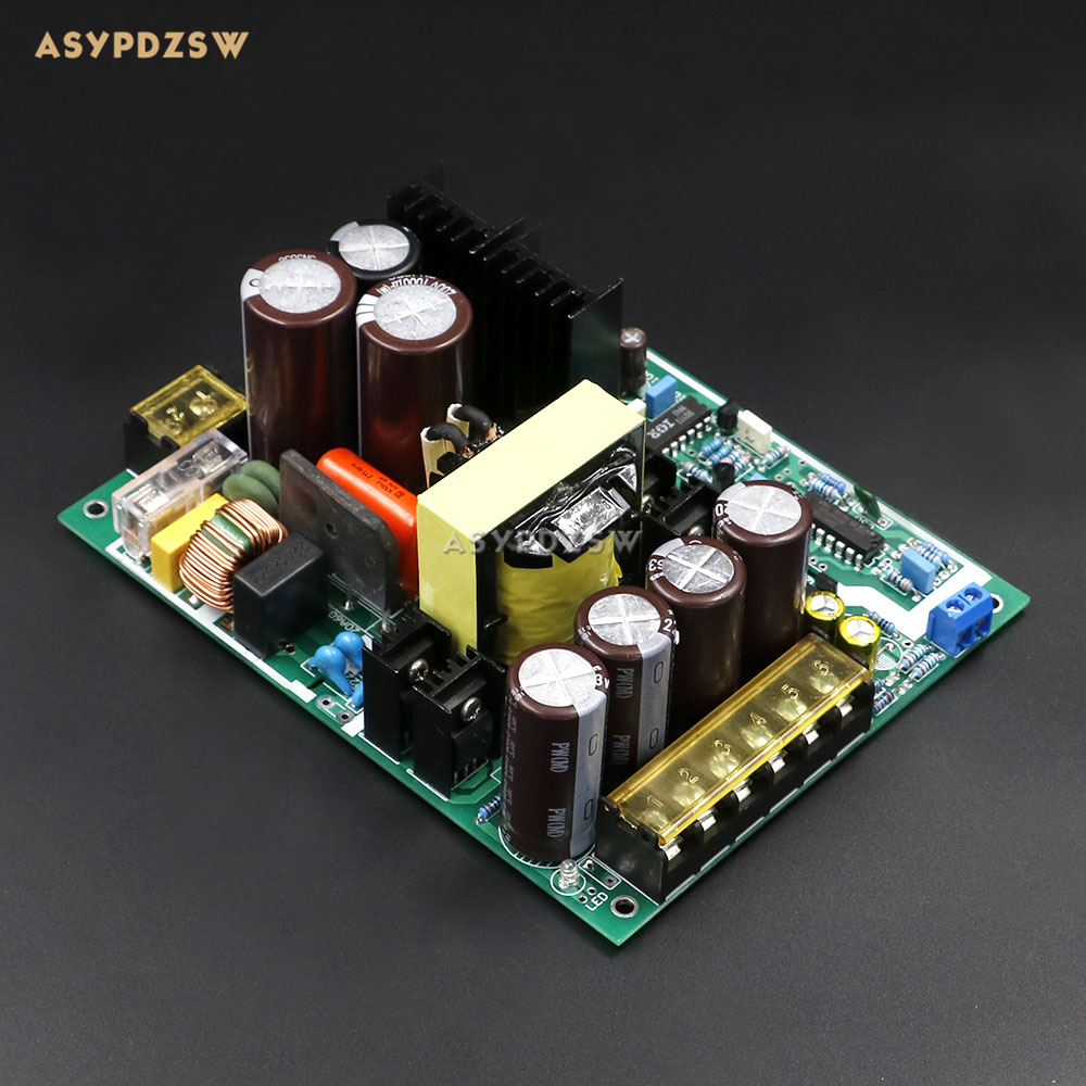 600w high-power smps class d amplifier switching power supply board ...