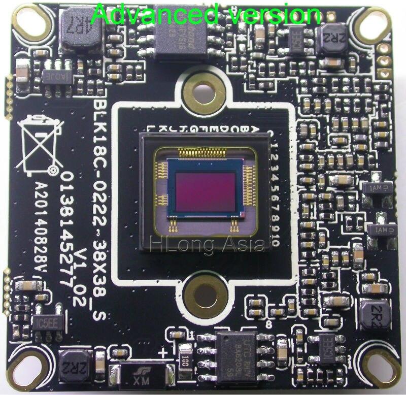 """bilder für IPC (1080 P) 1/2. 8 """"sony imx322 bildsensor hi3516c cctv-ip-kamera-modul platine unterstützung externe usb wifi"""