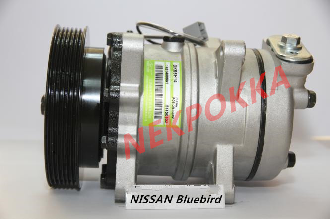 Automotive air conditioning compressor for nissan Bluebird 4PK 12VAutomotive air conditioning compressor for nissan Bluebird 4PK 12V