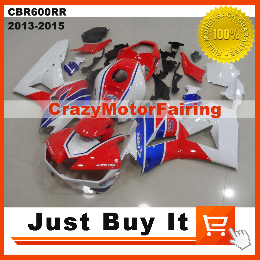 100% Fit For HONDA CBR600RR 2013 2014 2015 OEM NEW HRC Red MOTORCYCLE FAIRING KIT Protective Cover ABS Injection Molding Cowling motorcycle radiator grille protective cover grill guard protector for 2013 2014 2015 2016 honda cbr600rr cbr 600 rr