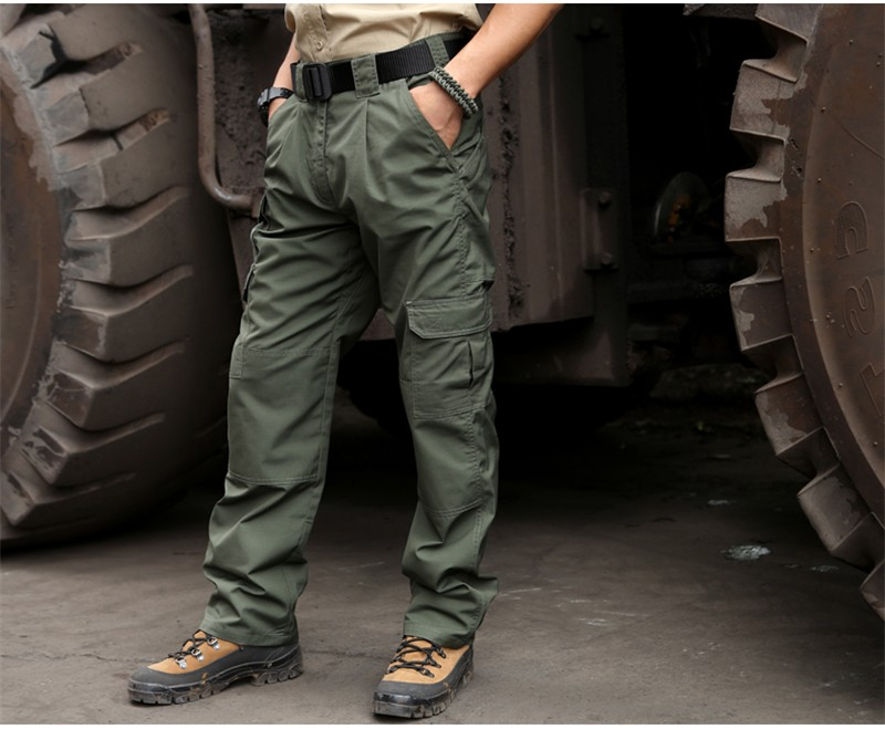 Mens Lightweight Cargo Pants