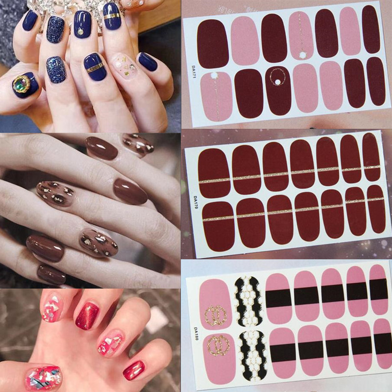 top 10 custom nail art stickers brands and get free shipping