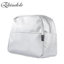 Eleindole 여성 다기능 캐리지 가방 18l 베이비 케어 가방 유모차 스트랩과 materniry 실버 여성 패션 배낭
