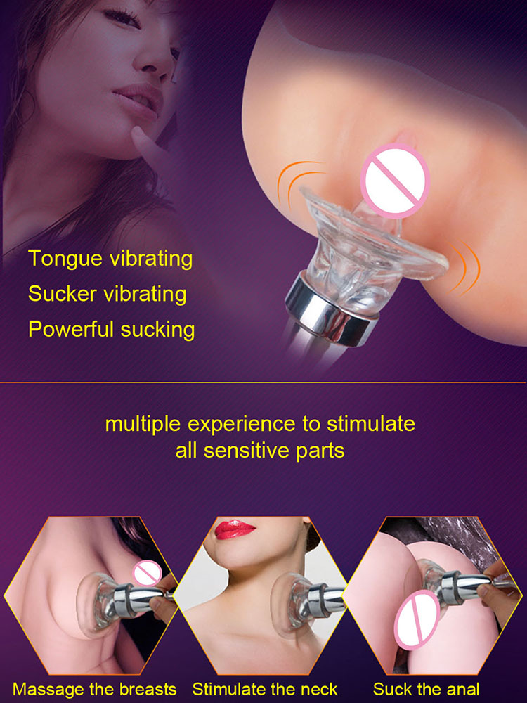Thrasher Lix Oral Vibrator With Built In Controller