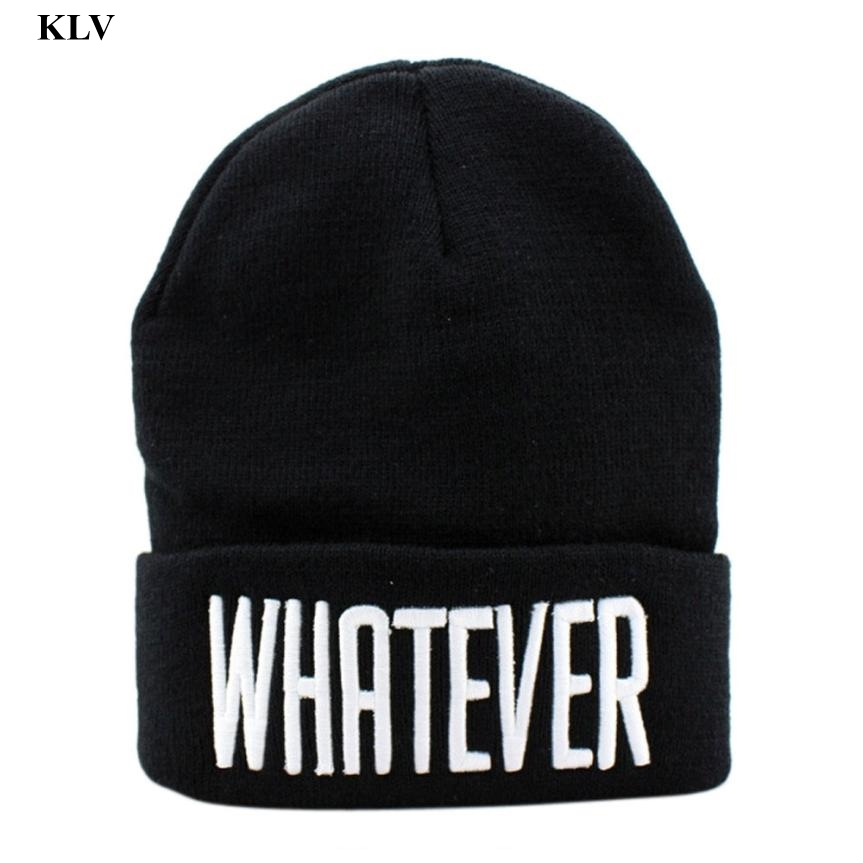 Unisex Beanie Hat Female Skullies and Beanies Women Letter Skully Hat Cap Men Women  Letter Hip Hop Hats Gorros Toucas Dec18 2017 winter women beanie skullies men hiphop hats knitted hat baggy crochet cap bonnets femme en laine homme gorros de lana