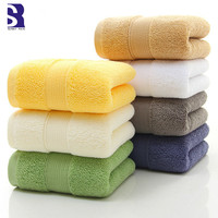 SunnyRain 1 Piece Thick Egyptian Cotton Bath Towel For Adult Towel GMS 650G 70x140cm Water absorbent toallas