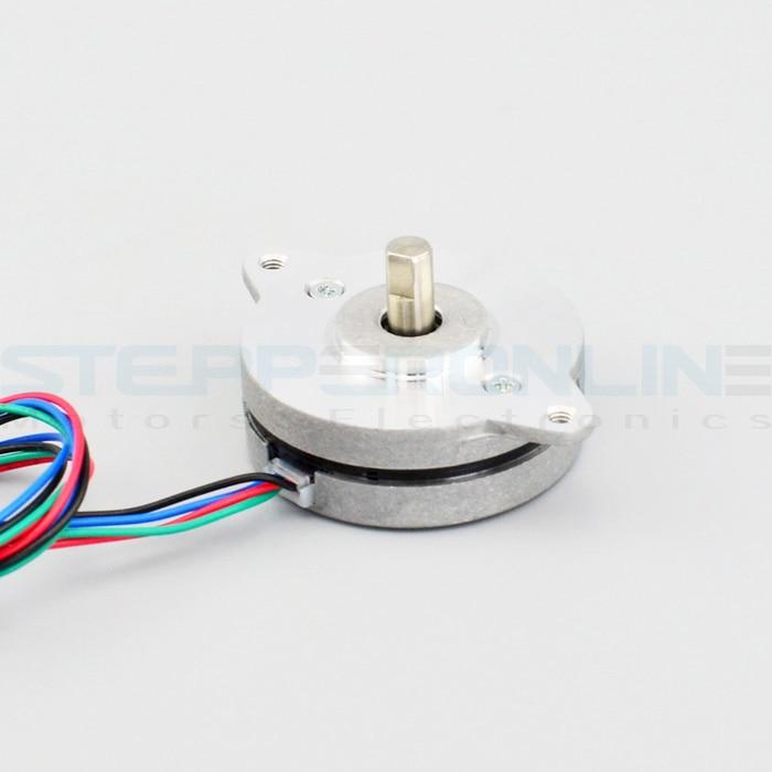 Thin 0.9deg Nema 14 Stepper Motor 36*36*12.5mm Bipolar 0.5A 7Ncm/10oz.in 4-lead Nema14 Motor For DIY CNC XYZ 3D Printer