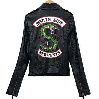 Zipper PU Jacket 4