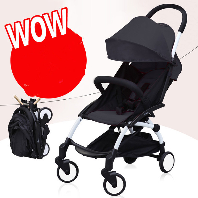 bibyu easy fold baby stroller pick up in plane box,fashion style