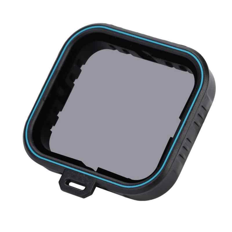 Телесин оптический Стекло набор УФ-фильтров с нейтральной плотностью ND4/8/16 системы безопасности ND Fader набор фильтров для Gopro Hero 5 и 6 новых 2018