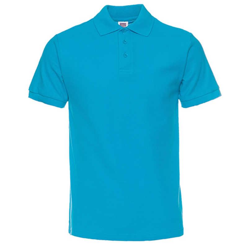 カジュアルポロシャツメンズポロパラ Hombre 男性服 2019 男性ポロシャツカジュアル半袖綿固体ドロップシッピング