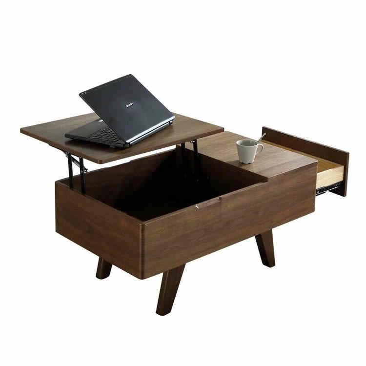 coffee table hydraulic lifting frame