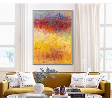Free Shipping by DHL FEDEX UPS 100%Handmade canvas painting colorful abstract Oil Painting on Canvas no frame for Home decor