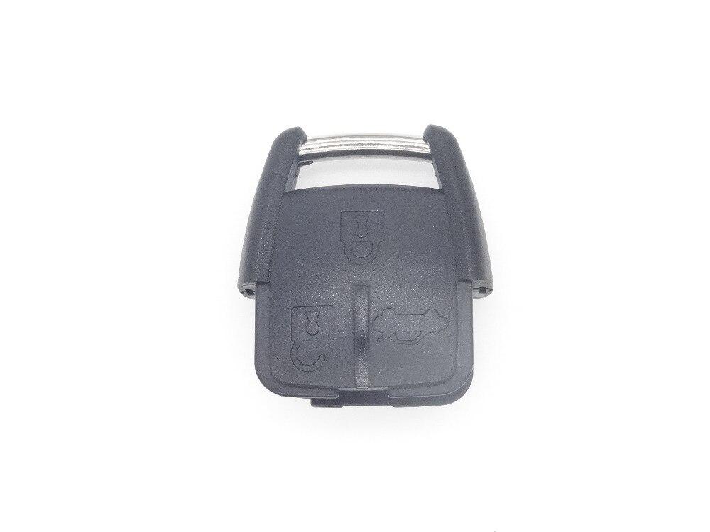 3 botones clave remoto caso de Reemplazo fob caso clave en blanco para el coche