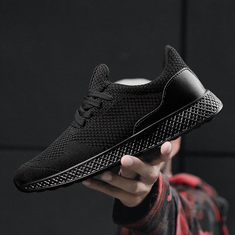 Big Size 48 Sneakers Men Fly Weave Casual Shoes Men Outdoor Walking Tenis Sneakers Lightweight Breathable Male Footwear XC 13