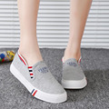 Men canvas shoes 2016 spring autumn women's casual shoes flat canvas shoes women sneakers breathable 06