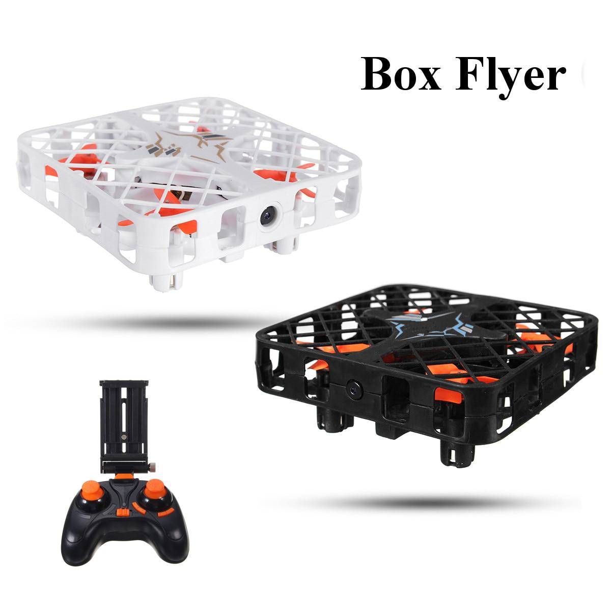 MINI Drone quadrirotor 2.4 GHz 4CH 6 avec caméra WiFi FPV, Mini quadrirotor