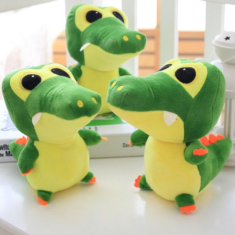 1pc 20cm Kawaii Crocodile Plush Toys Soft Cartoon Stuffed Animals Kids Doll Toy For Children Baby Birthday Gifts