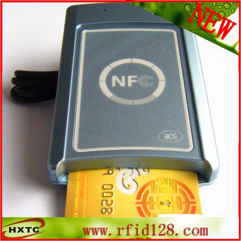 ACR1222U USB Dual Interface Smart Card Reader Writer For Sle5428 Chip Card