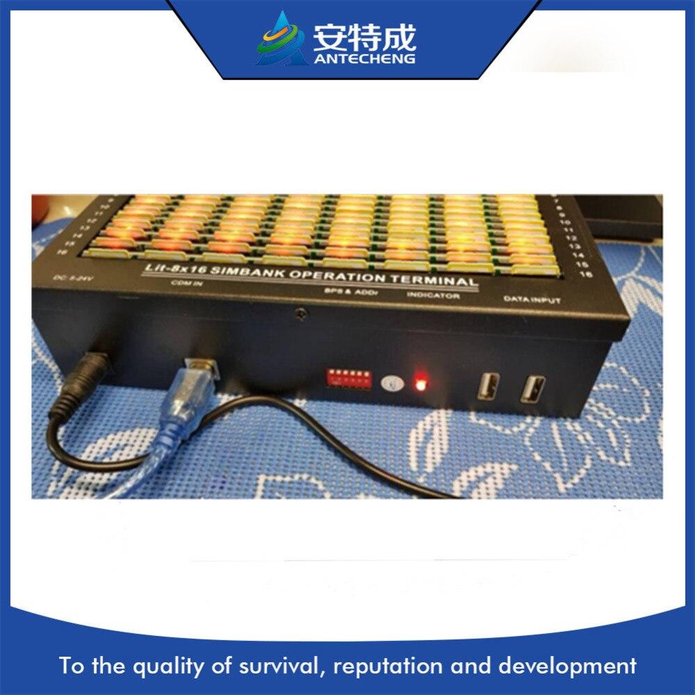128 Слоты sim-банк/sim-банк 128 работает с GSM пул модемов ...