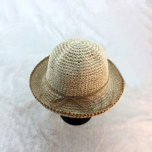 2019 summer beach hat women solid color straw fisherman fashion casual personality wild sun Visor casquette femme