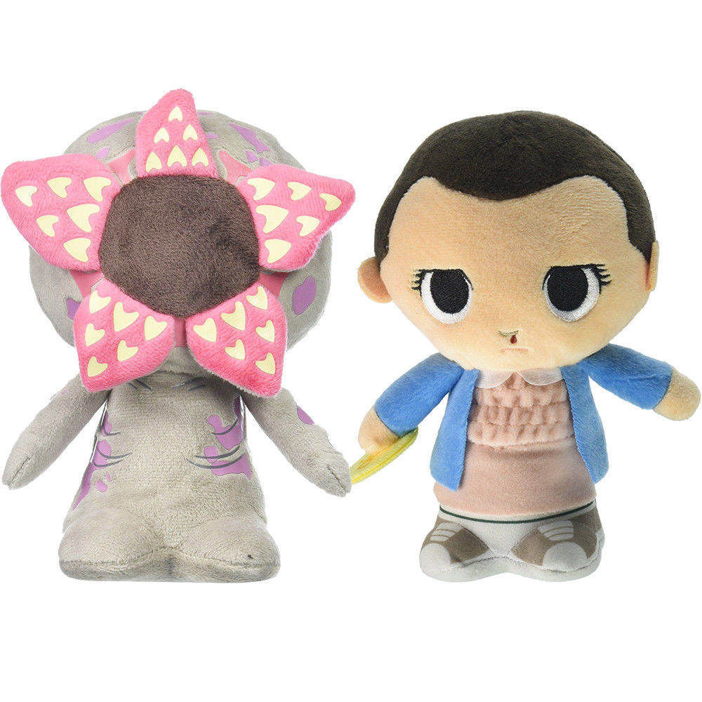 18-20cm Stranger Things Eleven With Eggo Demogorgon Plush Toy