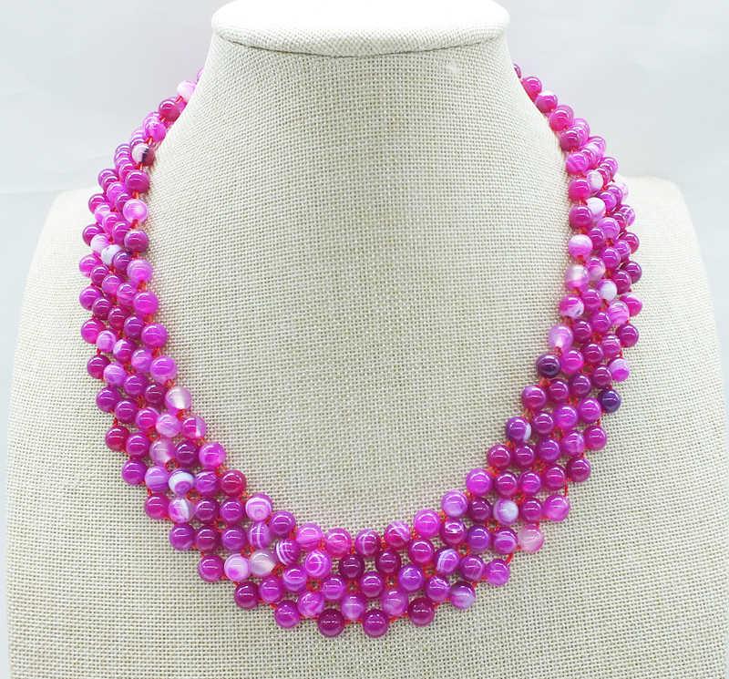 Бесплатная доставка, классический бразильский полудрагоценный камень ожерелье, браслет