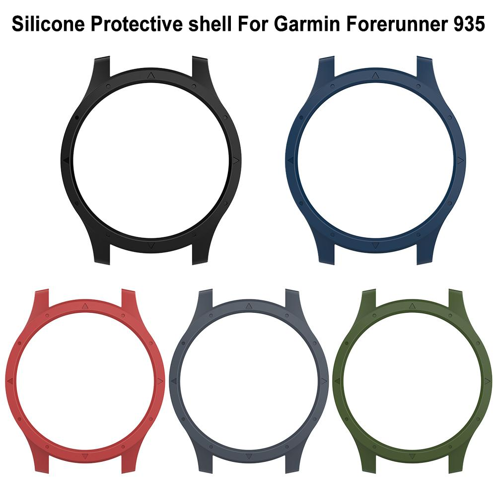 Image 5 - Silicone Protector Case Cover Shell Protective Shell Smart Watch Easy To Install And Remove For Garmin Forerunner 935-in Smart Accessories from Consumer Electronics